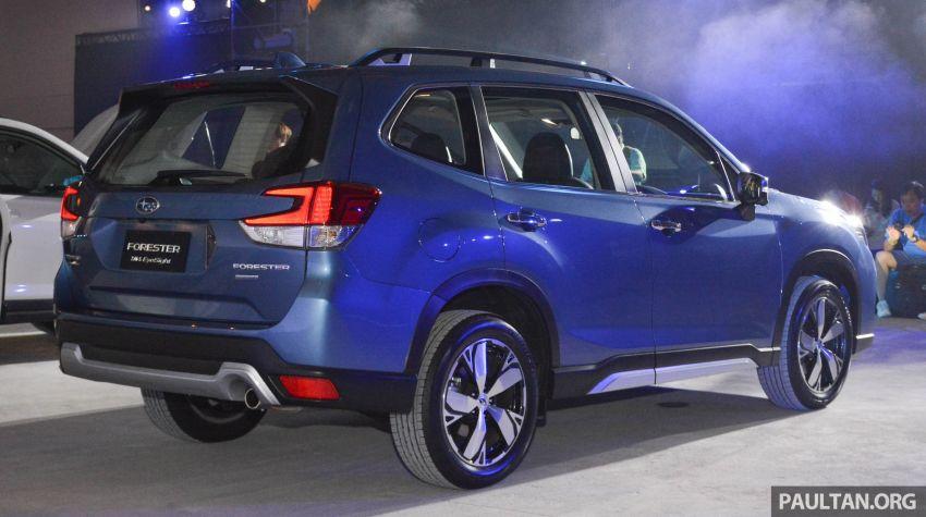 Subaru Forester 2019 dilancar di Taiwan – empat varian ditawarkan, enjin 2.0L CVT, sistem EyeSight Image #848535