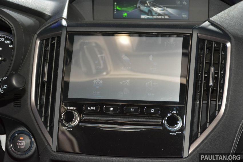 Subaru Forester 2019 dilancar di Taiwan – empat varian ditawarkan, enjin 2.0L CVT, sistem EyeSight Image #848571