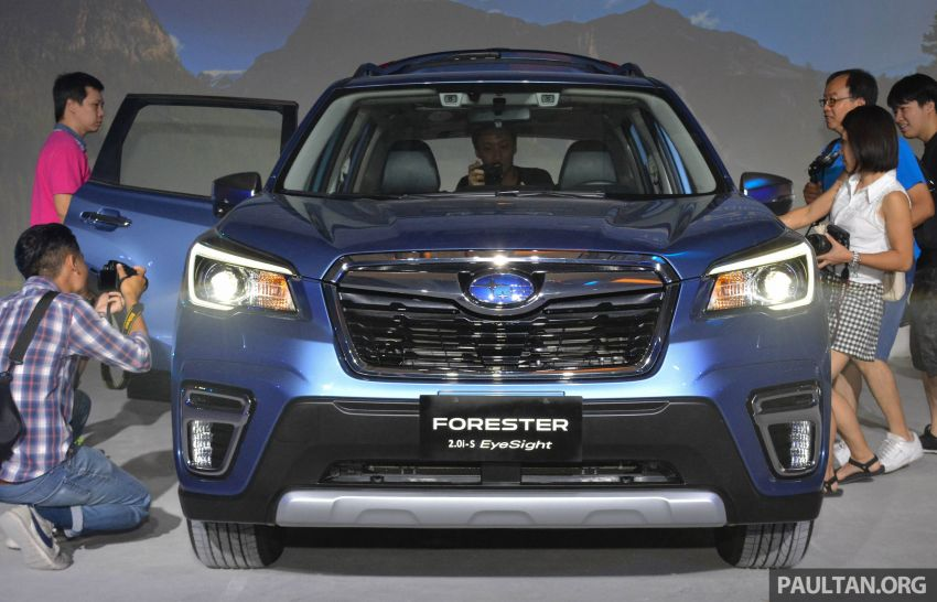 2019 Subaru Forester officially launched in Taiwan – four variants offered, 2.0L CVT, EyeSight system Image #848381