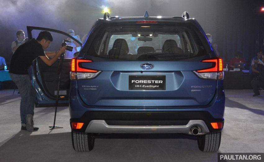 Subaru Forester 2019 dilancar di Taiwan – empat varian ditawarkan, enjin 2.0L CVT, sistem EyeSight Image #848540