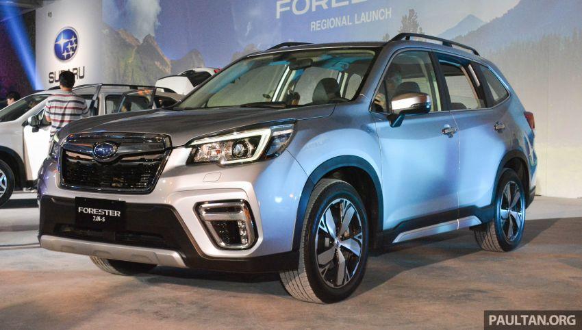 Subaru Forester 2019 dilancar di Taiwan – empat varian ditawarkan, enjin 2.0L CVT, sistem EyeSight Image #848471
