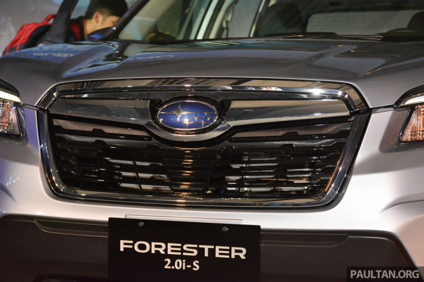 2019 Subaru Forester officially launched in Taiwan – four variants offered, 2.0L CVT, EyeSight system Image #848345