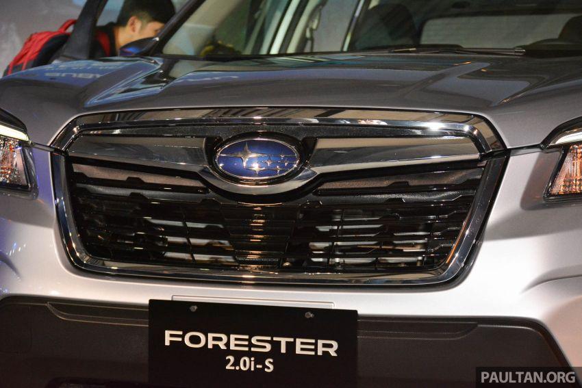 Subaru Forester 2019 dilancar di Taiwan – empat varian ditawarkan, enjin 2.0L CVT, sistem EyeSight Image #848482