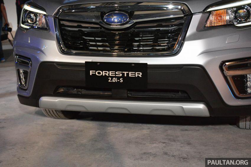 Subaru Forester 2019 dilancar di Taiwan – empat varian ditawarkan, enjin 2.0L CVT, sistem EyeSight Image #848484