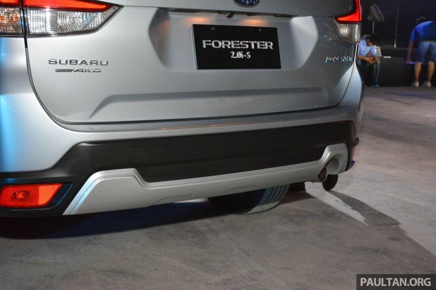 Subaru Forester 2019 dilancar di Taiwan – empat varian ditawarkan, enjin 2.0L CVT, sistem EyeSight Image #848487