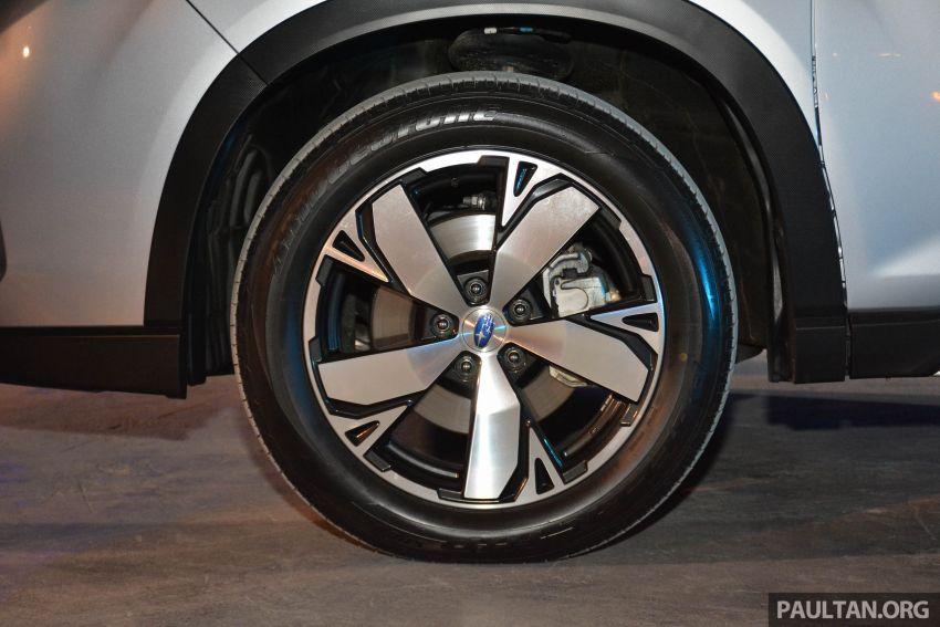 Subaru Forester 2019 dilancar di Taiwan – empat varian ditawarkan, enjin 2.0L CVT, sistem EyeSight Image #848489