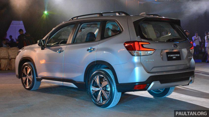 Subaru Forester 2019 dilancar di Taiwan – empat varian ditawarkan, enjin 2.0L CVT, sistem EyeSight Image #848472