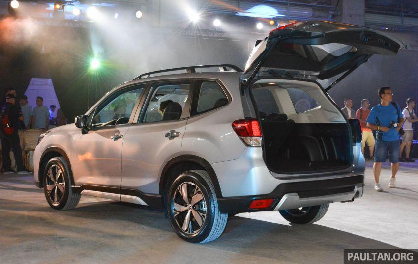 Subaru Forester 2019 dilancar di Taiwan – empat varian ditawarkan, enjin 2.0L CVT, sistem EyeSight Image #848474
