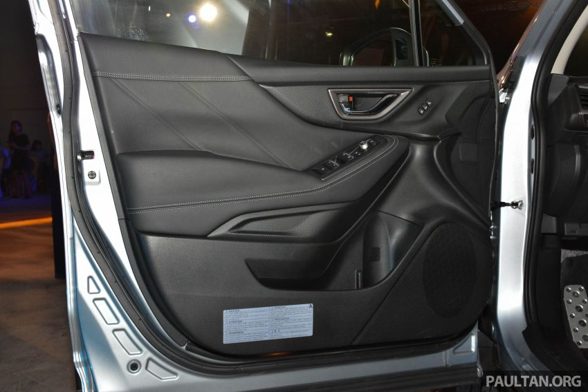 Subaru Forester 2019 dilancar di Taiwan – empat varian ditawarkan, enjin 2.0L CVT, sistem EyeSight Image #848520