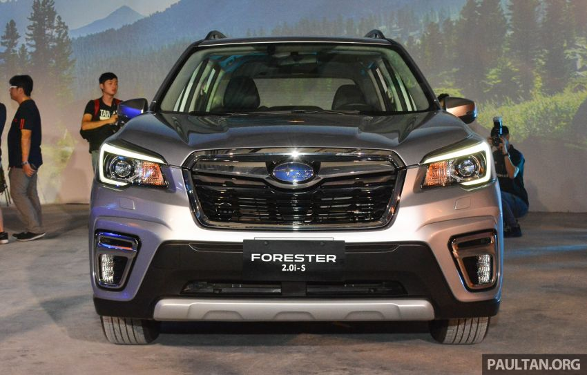 2019 Subaru Forester officially launched in Taiwan – four variants offered, 2.0L CVT, EyeSight system Image #848338