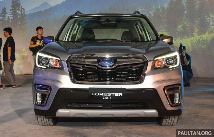 Subaru Forester 2019 dilancar di Taiwan – empat varian ditawarkan, enjin 2.0L CVT, sistem EyeSight Image #848475
