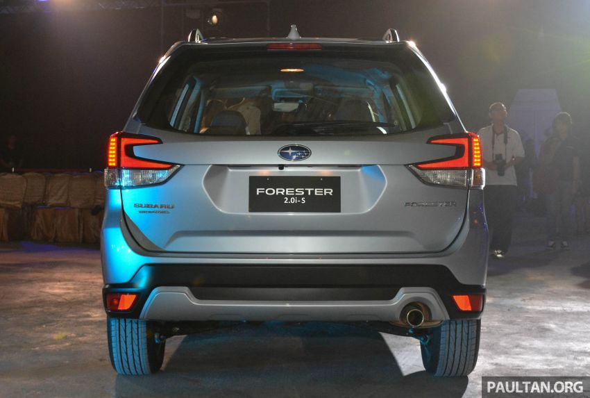 2019 Subaru Forester officially launched in Taiwan – four variants offered, 2.0L CVT, EyeSight system Image #848339