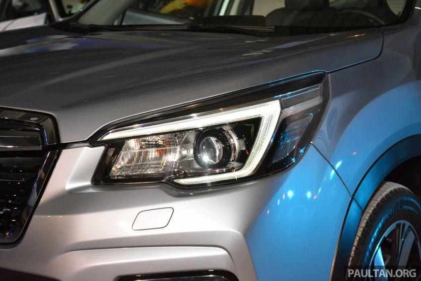 Subaru Forester 2019 dilancar di Taiwan – empat varian ditawarkan, enjin 2.0L CVT, sistem EyeSight Image #848479