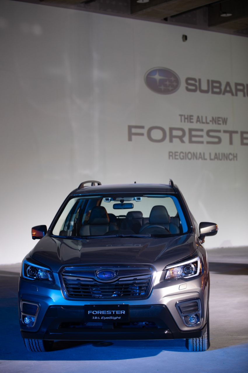 2019 Subaru Forester officially launched in Taiwan – four variants offered, 2.0L CVT, EyeSight system Image #850285