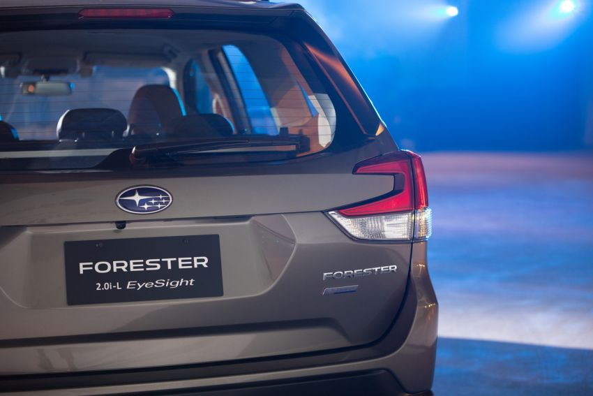 2019 Subaru Forester officially launched in Taiwan – four variants offered, 2.0L CVT, EyeSight system Image #850288