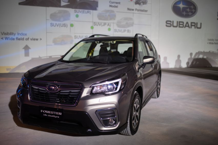 2019 Subaru Forester officially launched in Taiwan – four variants offered, 2.0L CVT, EyeSight system Image #850291