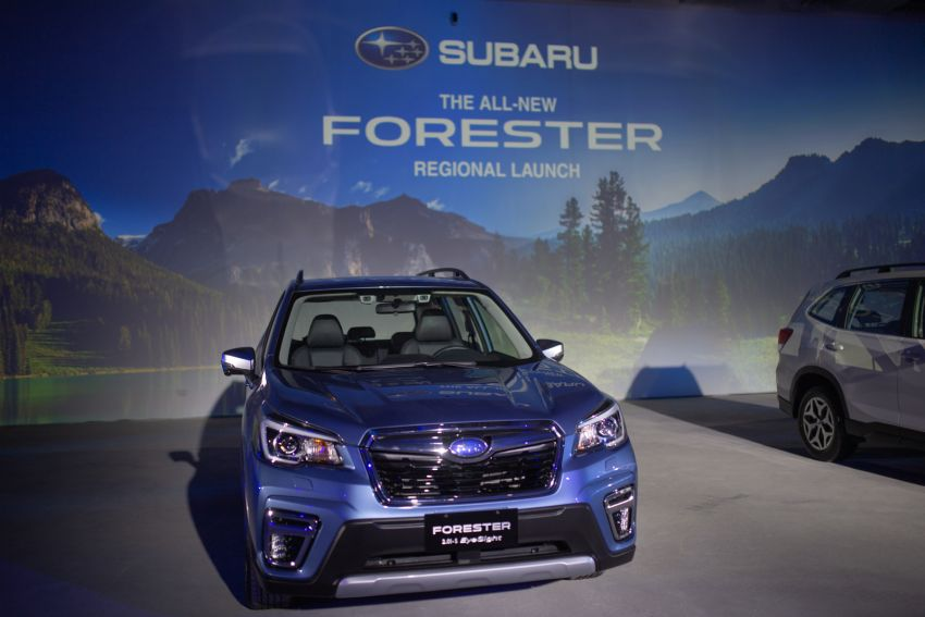 2019 Subaru Forester officially launched in Taiwan – four variants offered, 2.0L CVT, EyeSight system Image #850294