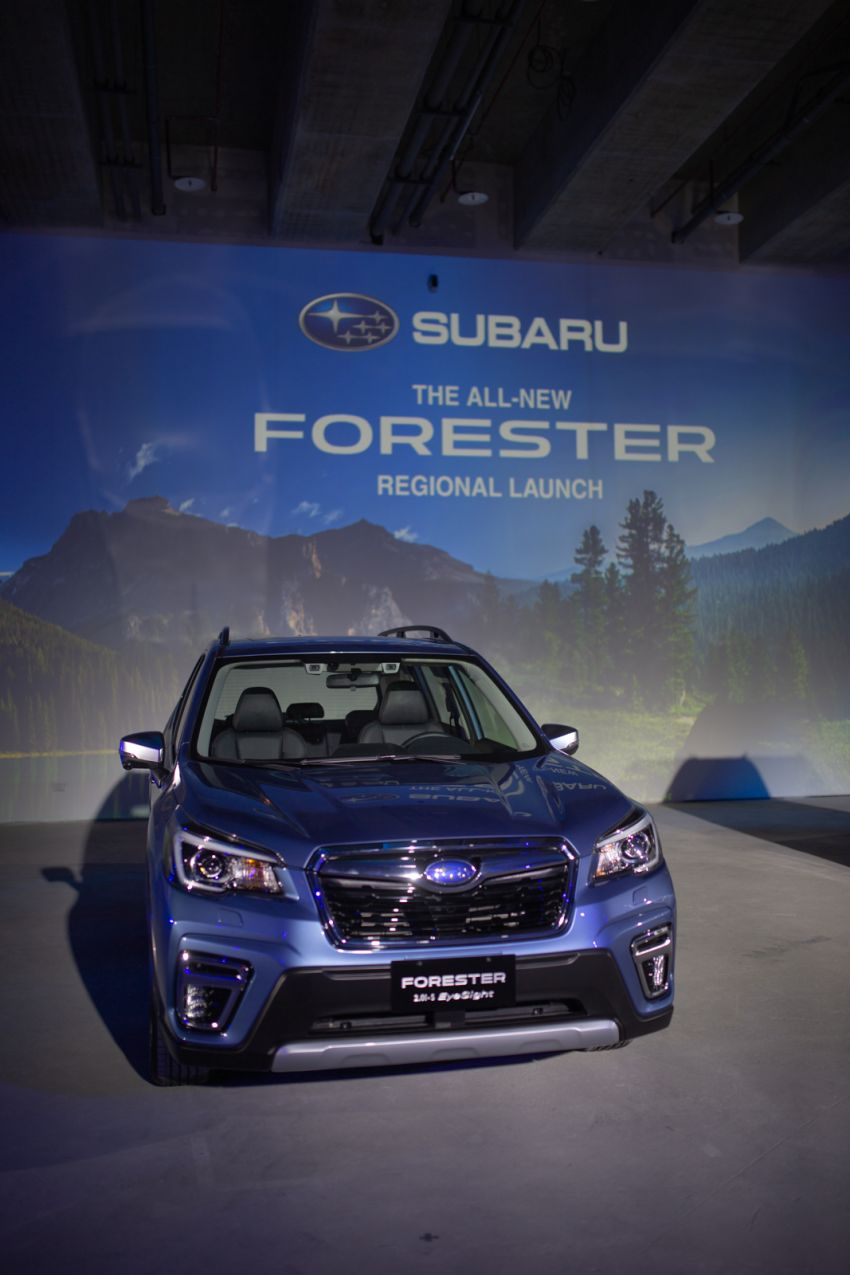 2019 Subaru Forester officially launched in Taiwan – four variants offered, 2.0L CVT, EyeSight system Image #850295