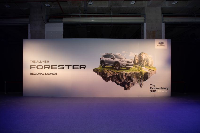 2019 Subaru Forester officially launched in Taiwan – four variants offered, 2.0L CVT, EyeSight system Image #850309