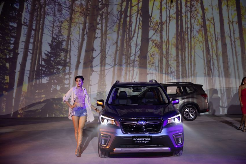 2019 Subaru Forester officially launched in Taiwan – four variants offered, 2.0L CVT, EyeSight system Image #850312