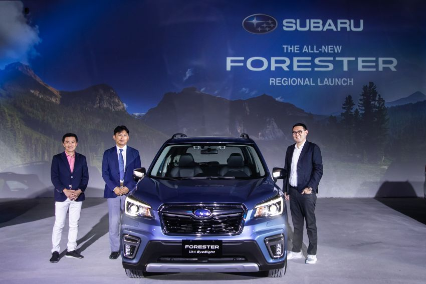 2019 Subaru Forester officially launched in Taiwan – four variants offered, 2.0L CVT, EyeSight system Image #850313