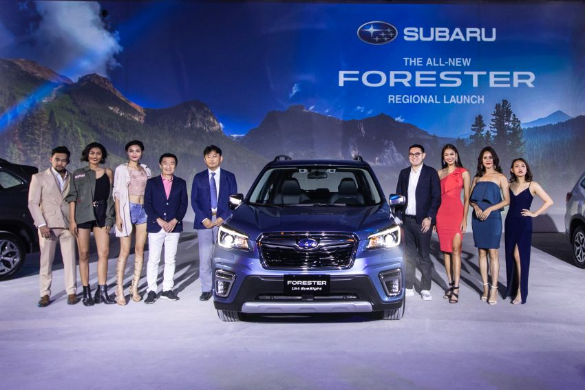 2019 Subaru Forester officially launched in Taiwan – four variants offered, 2.0L CVT, EyeSight system Image #850314