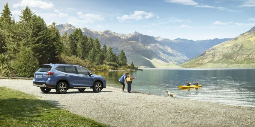 2019 Subaru Forester officially launched in Taiwan – four variants offered, 2.0L CVT, EyeSight system Image #847974