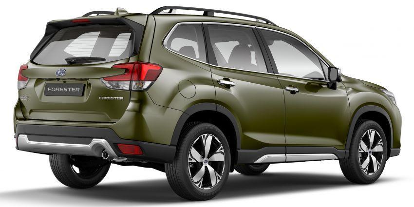 Subaru Forester 2019 dilancar di Taiwan – empat varian ditawarkan, enjin 2.0L CVT, sistem EyeSight Image #848284