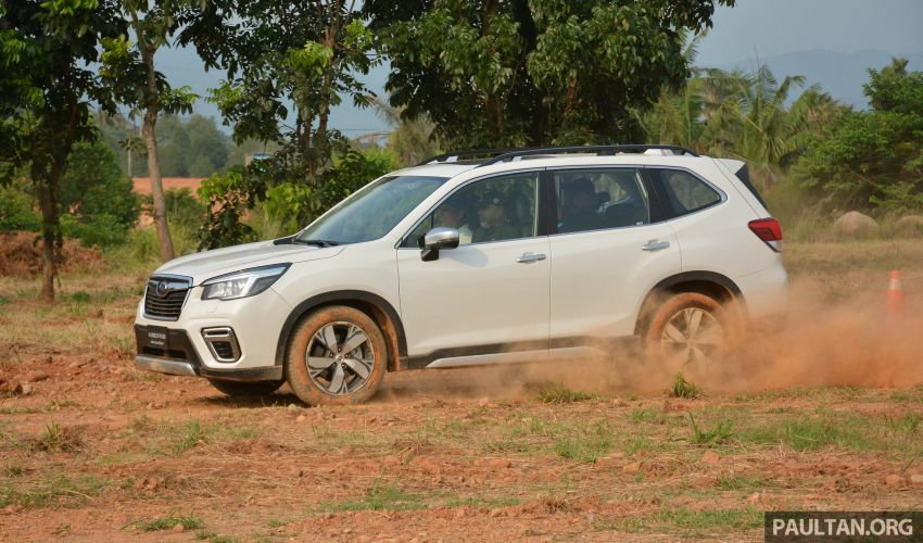 FIRST DRIVE: 2019 Subaru Forester sampled in Taiwan Image #850526