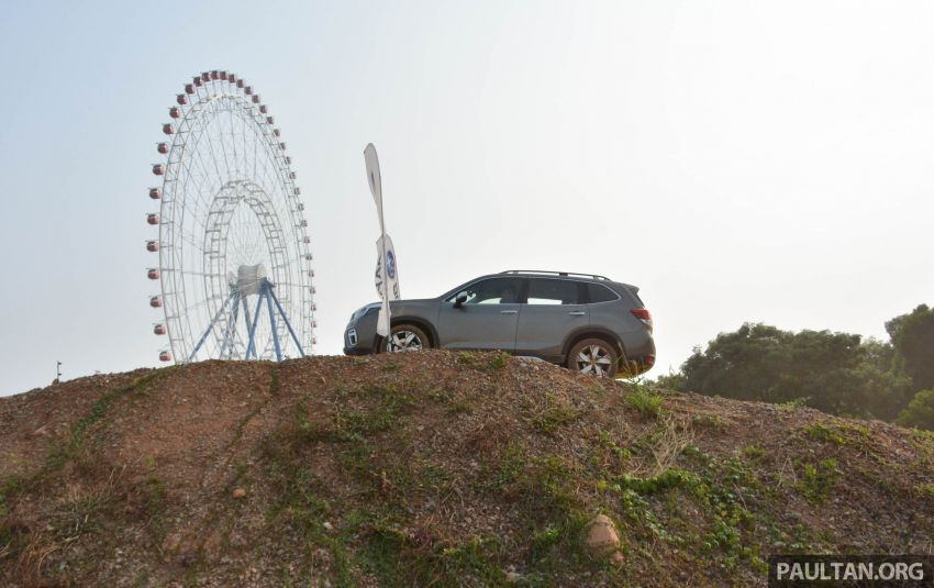 FIRST DRIVE: 2019 Subaru Forester sampled in Taiwan Image #850538