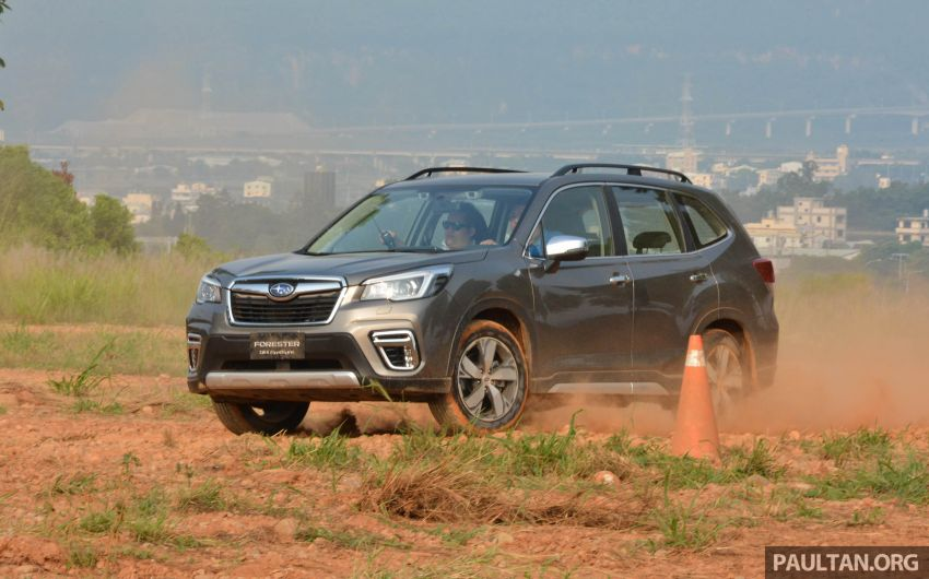 FIRST DRIVE: 2019 Subaru Forester sampled in Taiwan Image #850540