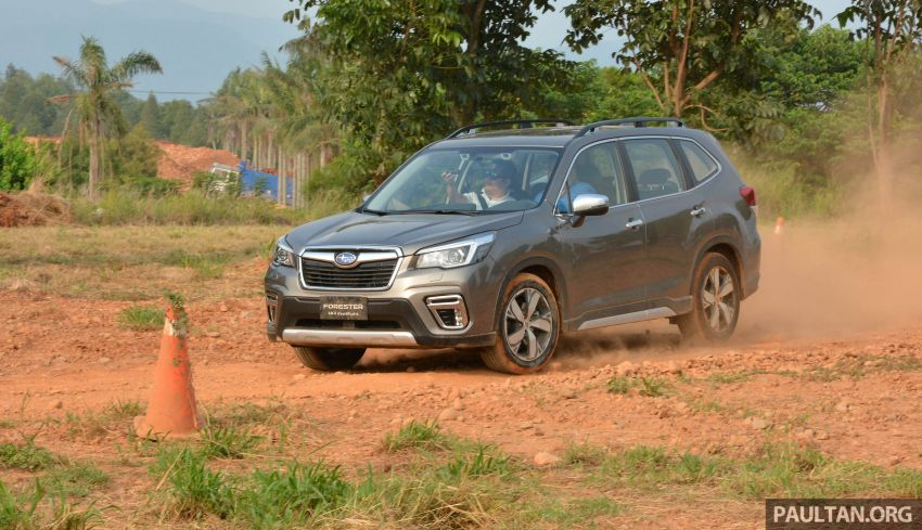 FIRST DRIVE: 2019 Subaru Forester sampled in Taiwan Image #850542
