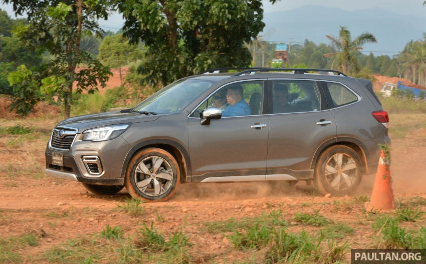 FIRST DRIVE: 2019 Subaru Forester sampled in Taiwan Image #850544