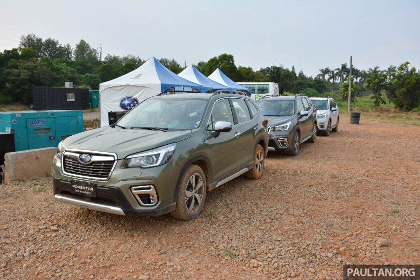FIRST DRIVE: 2019 Subaru Forester sampled in Taiwan Image #850509