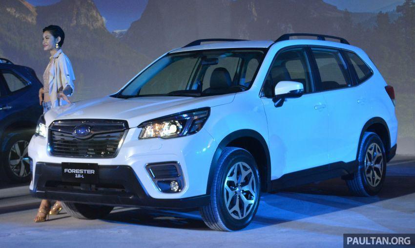 Subaru Forester 2019 dilancar di Taiwan – empat varian ditawarkan, enjin 2.0L CVT, sistem EyeSight Image #848281