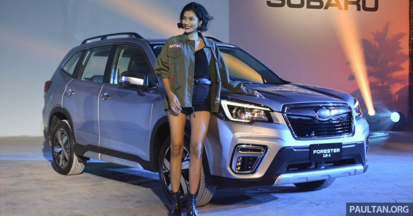 2019 Subaru Forester officially launched in Taiwan – four variants offered, 2.0L CVT, EyeSight system Image #848218