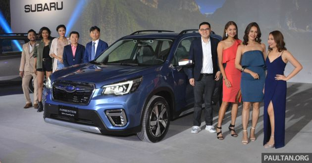 2019 Subaru Forester Officially Launched In Taiwan Four Variants