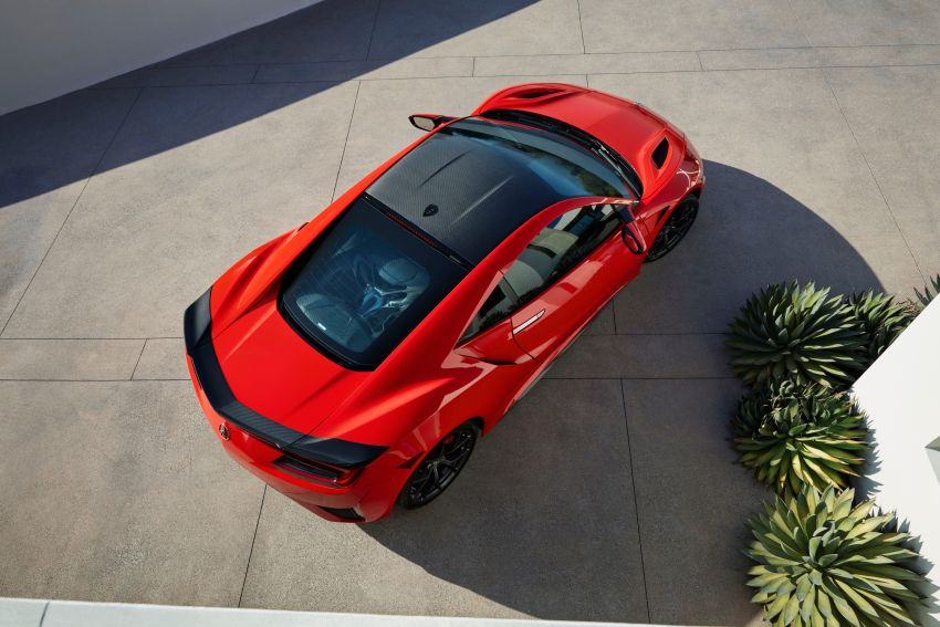 2019 Acura NSX debuts at Monterey – revised styling, more equipment; from RM645,251 in the United States Image #855619