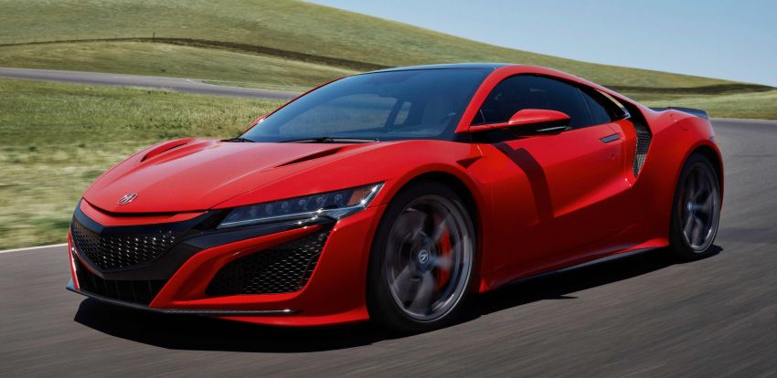 2019 Acura NSX debuts at Monterey – revised styling, more equipment; from RM645,251 in the United States Image #855621