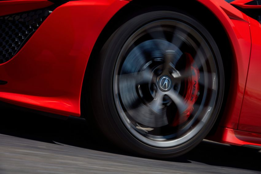 2019 Acura NSX debuts at Monterey – revised styling, more equipment; from RM645,251 in the United States Image #855622