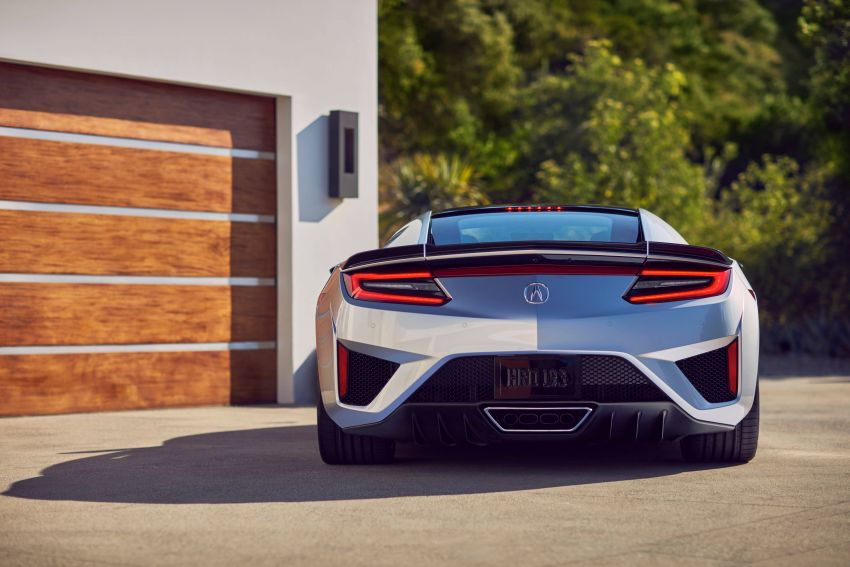 2019 Acura NSX debuts at Monterey – revised styling, more equipment; from RM645,251 in the United States Image #855623