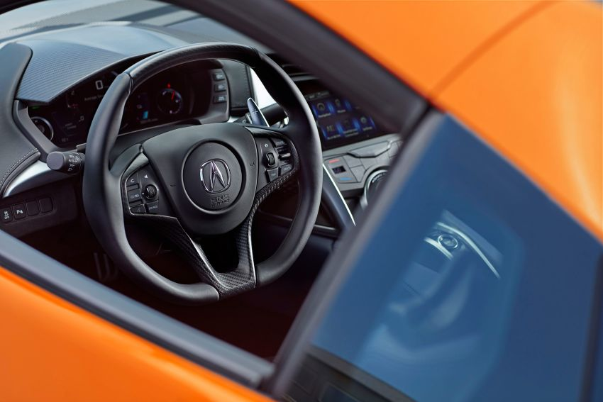 2019 Acura NSX debuts at Monterey – revised styling, more equipment; from RM645,251 in the United States Image #855624