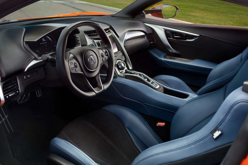 2019 Acura NSX debuts at Monterey – revised styling, more equipment; from RM645,251 in the United States Image #855625
