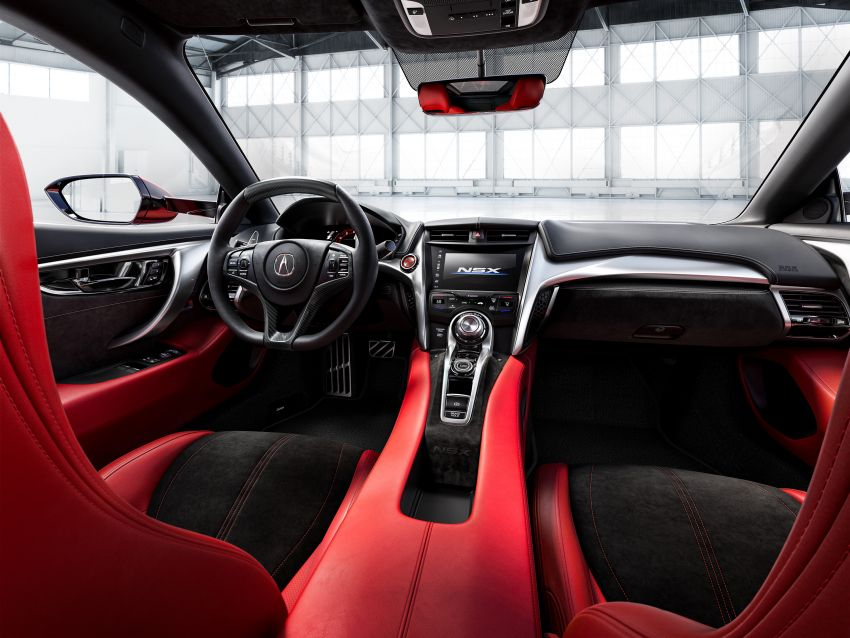 2019 Acura NSX debuts at Monterey – revised styling, more equipment; from RM645,251 in the United States Image #855629