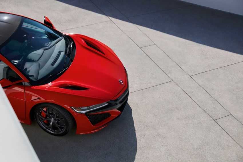 2019 Acura NSX debuts at Monterey – revised styling, more equipment; from RM645,251 in the United States Image #855631