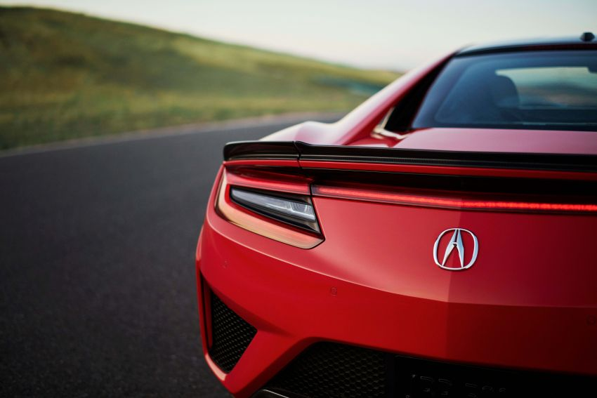 2019 Acura NSX debuts at Monterey – revised styling, more equipment; from RM645,251 in the United States Image #855633