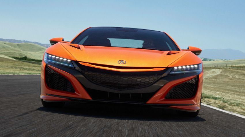2019 Acura NSX debuts at Monterey – revised styling, more equipment; from RM645,251 in the United States Image #855634