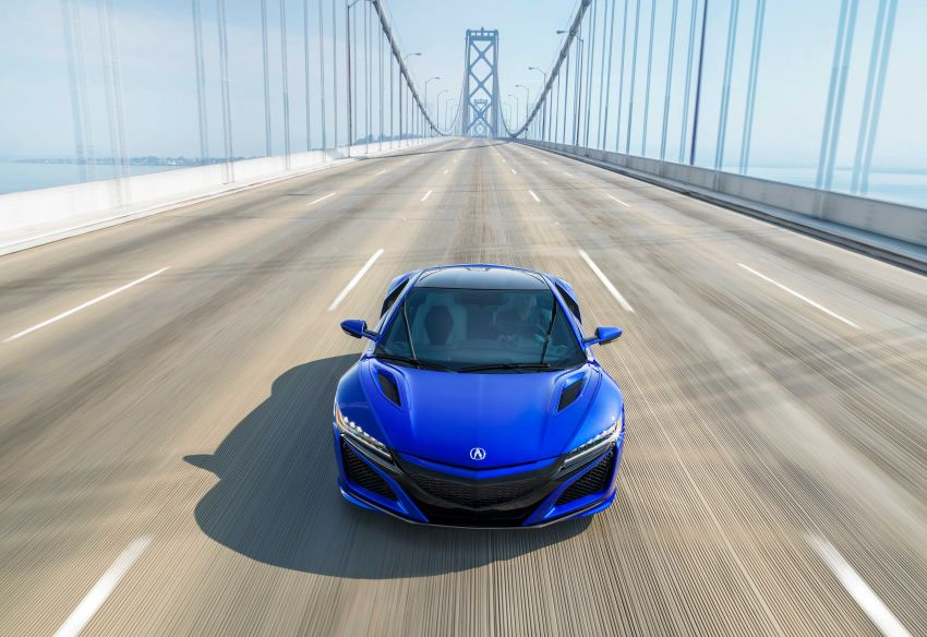 2019 Acura NSX debuts at Monterey – revised styling, more equipment; from RM645,251 in the United States Image #855636