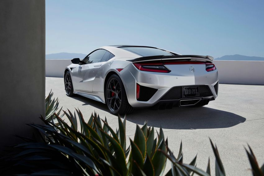 2019 Acura NSX debuts at Monterey – revised styling, more equipment; from RM645,251 in the United States Image #855639