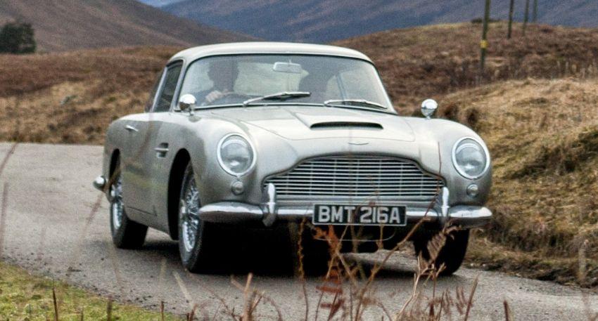 Aston Martin DB5 – Bond's ride being remade, 25 units Image #852752